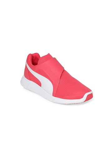 Puma Girls Pink Sneakers 36259809 Puma Casual Shoes at myntra