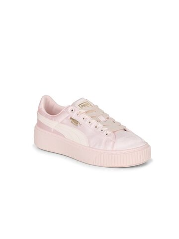 Puma Girls Peach-Coloured Sneakers Puma Casual Shoes at myntra