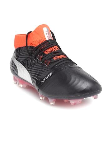 Puma Men Black One 18.1 Firm Ground Football Shoes Puma Sports Shoes at myntra
