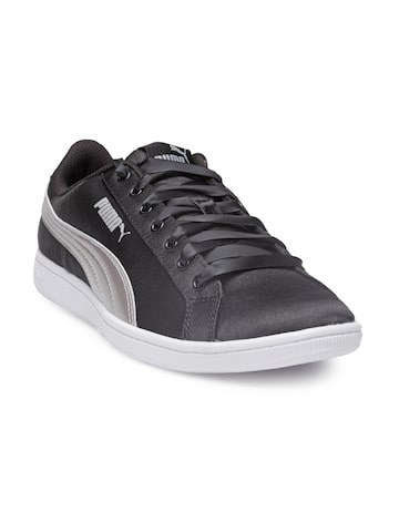 Puma Women Black Vikky EP Sneakers Puma Casual Shoes at myntra