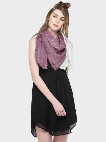 J Style Purple Dyed Scarf J Style Scarves at myntra