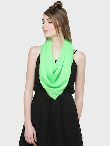 J Style Green Solid Scarf J Style Scarves at myntra