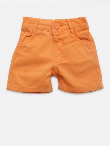 Baby League Boys Orange Solid Shorts Baby League Shorts at myntra