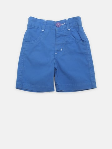 Baby League Boys Blue Solid Shorts Baby League Shorts at myntra