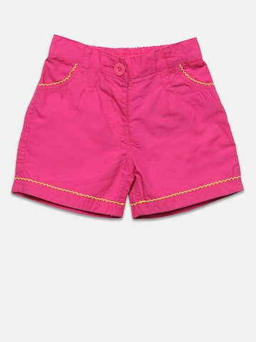 Baby League Girls Pink Solid Shorts Baby League Shorts at myntra