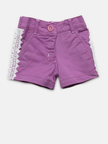 Baby League Girls Purple Regular Shorts Baby League Shorts at myntra