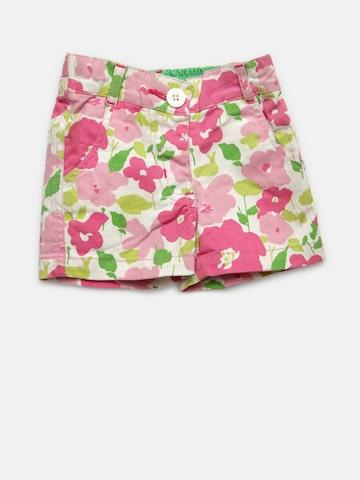 Baby League Girls Pink Printed Shorts Baby League Shorts at myntra