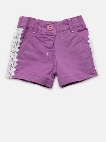 612 league Girls Purple Solid Shorts 612 league Shorts at myntra
