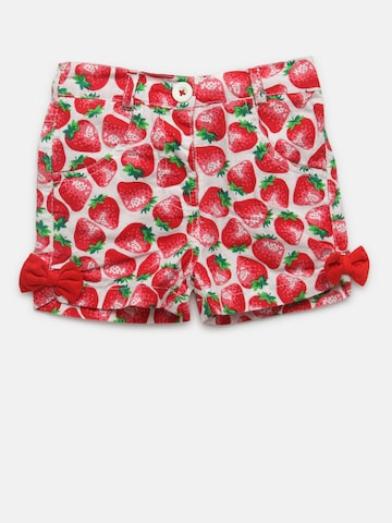 612 league Girls Red Printed Regular Fit Regular Shorts 612 league Shorts at myntra