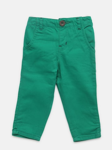 Baby League Boys Green Solid Trousers Baby League Trousers at myntra