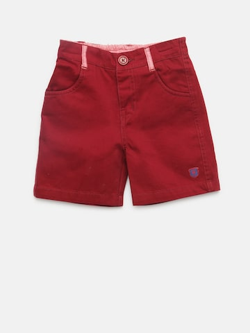 612 league Boys Maroon Shorts 612 league Shorts at myntra