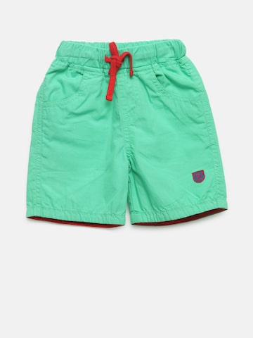 612 league Boys Green Solid Shorts 612 league Shorts at myntra