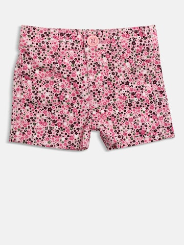 612 league Girls Pink Printed Regular Fit Shorts 612 league Shorts at myntra