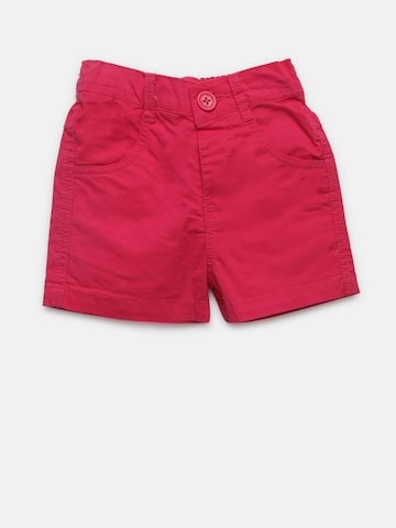 612 league Girls Pink Solid Shorts 612 league Shorts at myntra