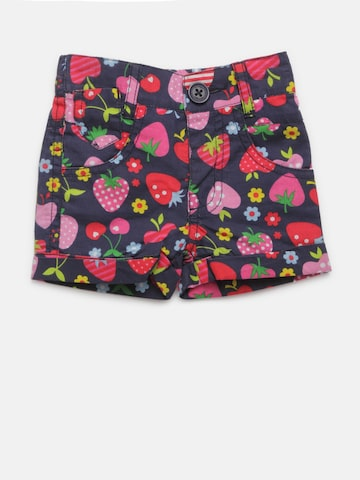 612 league Girls Navy Blue Printed Shorts 612 league Shorts at myntra