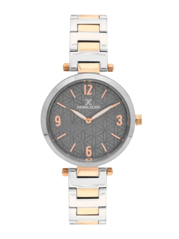 Daniel Klein Women Grey Analogue Watch DK11471-7 Daniel Klein Watches at myntra