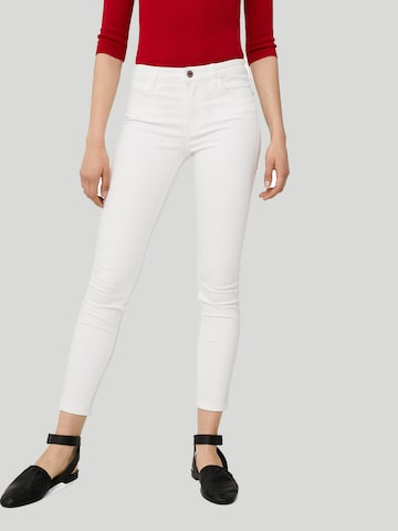 MANGO Women White Skinny Fit Mid-Rise Clean Look Cropped Stretchable Jeans MANGO Jeans at myntra