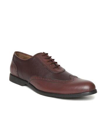 San Frissco Men Brown Semiformal Brogues San Frissco Formal Shoes at myntra