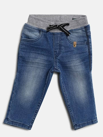 United Colors of Benetton Boys Blue Mid-Rise Clean Look Stretchable Jeans United Colors of Benetton Jeans at myntra