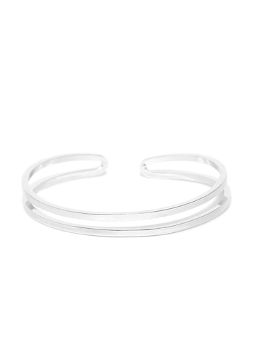 ToniQ Silver-Toned Cuff Bracelet ToniQ Bracelet at myntra