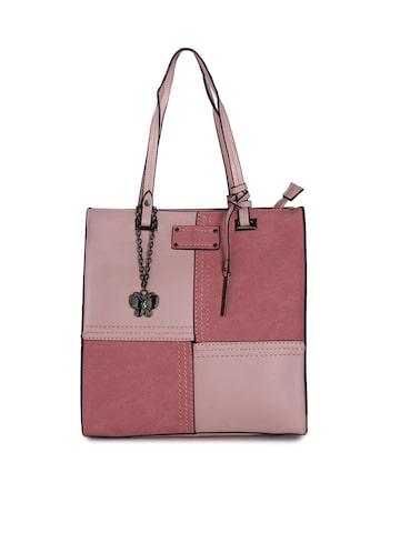 Butterflies Pink Solid Handheld Bag Butterflies Handbags at myntra