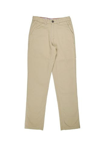 Gini and Jony Boys Beige Regular Fit Solid Formal Trousers Gini and Jony Trousers at myntra
