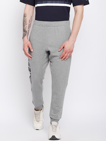 Puma Men Grey Solid Rebel Sweat Pants TR Track Pants Puma Track Pants at myntra
