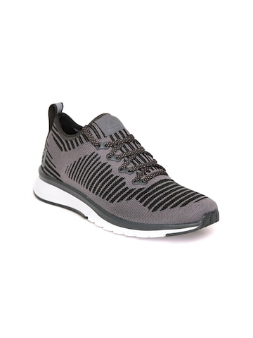Reebok Women Grey Print Smooth 2.0 ULTK Running Shoes Reebok Sports Shoes at myntra