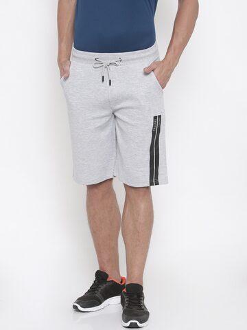 Proline Active Men Grey Solid Regular Fit Sports Shorts Proline Active Shorts at myntra