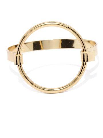 Ayesha Gold-Toned Metal Bangle-Style Bracelet Ayesha Bracelet at myntra