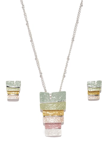 Ayesha Multicoloured Ombre Jewellery Set Ayesha Jewellery Set at myntra