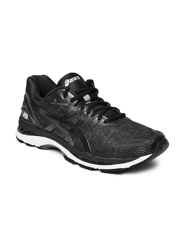 ASICS Men Black GEL-NIMBUS 20 Running Shoes ASICS Sports Shoes at myntra