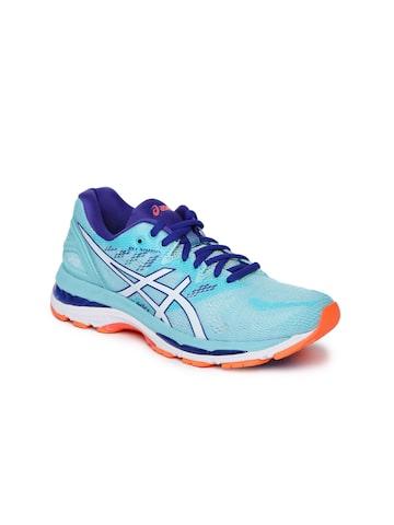 ASICS Women Blue GEL-NIMBUS 20 Running Shoes ASICS Sports Shoes at myntra