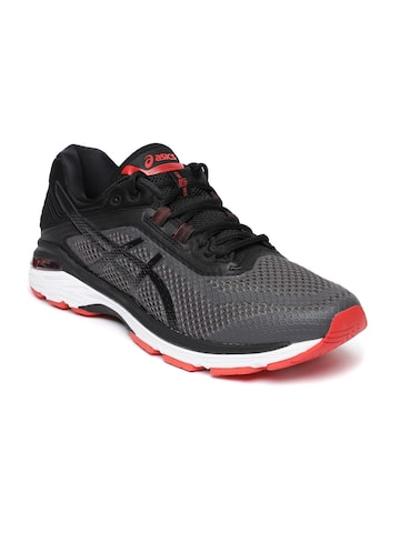 Asics Black GT-2000 6 Running Shoes ASICS Sports Shoes at myntra