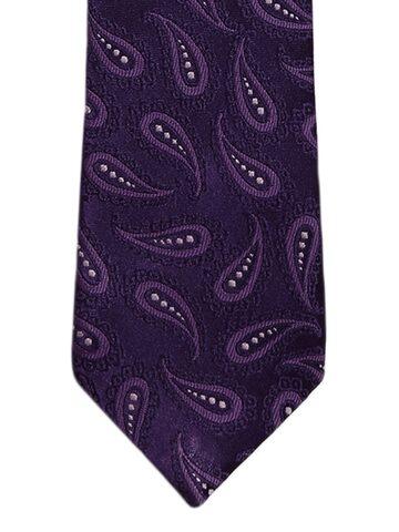 Alvaro Castagnino Purple Printed Skinny Tie Alvaro Castagnino Ties at myntra