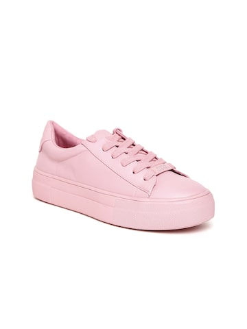 Steve Madden Women Pink Sneakers Steve Madden Casual Shoes at myntra