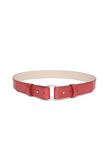 United Colors of Benetton Women Brown Solid Belt United Colors of Benetton Belts at myntra