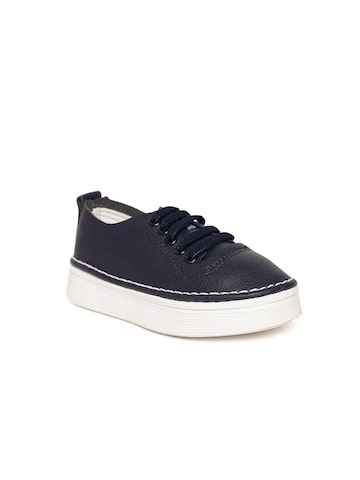 Kittens Boys Navy Blue Sneakers Kittens Casual Shoes at myntra