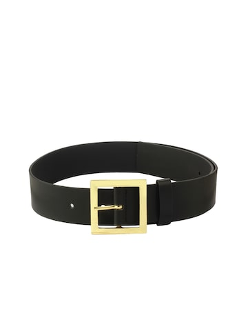 20Dresses Women Black Solid Belt 20Dresses Belts at myntra