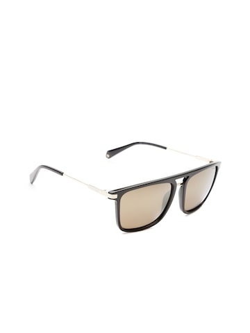 Polaroid Unisex Polarised Mirrored Square Sunglasses 2060/S 807 56LM Polaroid Sunglasses at myntra