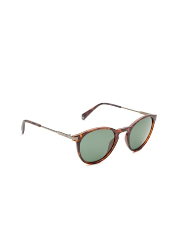 Polaroid Unisex Polarised Oval Sunglasses 2062/S N9P 50UC Polaroid Sunglasses at myntra