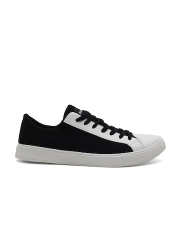 United Colors of Benetton Men Black Sneakers United Colors of Benetton Casual Shoes at myntra