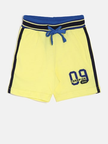 Palm Tree Boys Yellow Solid Regular Fit Shorts Palm Tree Shorts at myntra