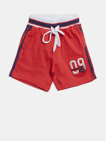 Palm Tree Boys Red Solid Regular Fit Shorts Palm Tree Shorts at myntra
