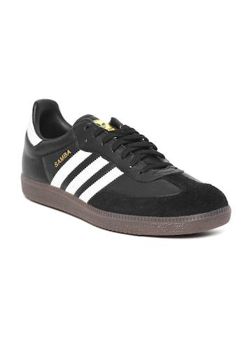 Adidas Originals Men Black SAMBA FB Sneakers Adidas Originals Casual Shoes at myntra