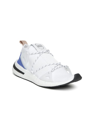 Adidas Originals Women White ARKYN Slip-On Sneakers Adidas Originals Casual Shoes at myntra