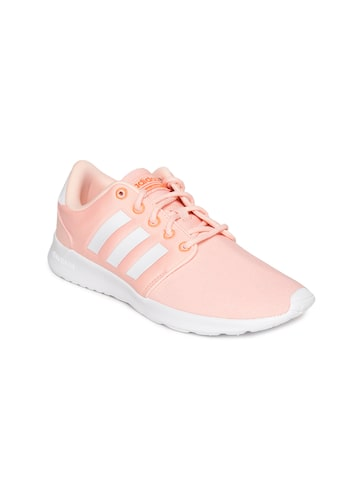 Adidas Women Pink CF QT RACER Sneakers Adidas Casual Shoes at myntra