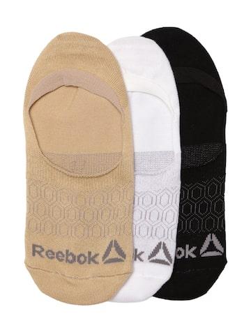 Reebok Women NO SHOW Set of 3 Shoeliners Reebok Socks at myntra