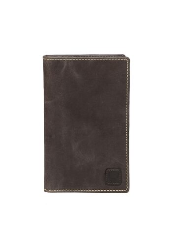 Hidesign Men Brown Leather Solid Two Fold Wallet Hidesign Wallets at myntra