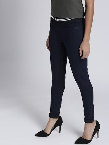 Chemistry Women Navy Solid Jeggings Chemistry Jeggings at myntra